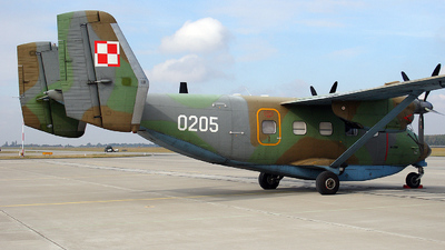 0205 - PZL-Mielec M-28TD Bryza - Poland - Air Force