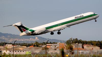 I-DANH - McDonnell Douglas MD-82 - Alitalia