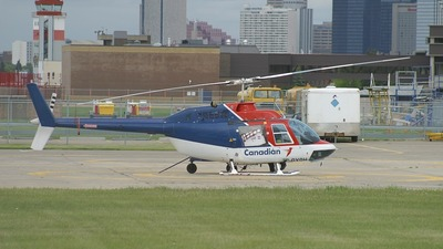 C-GYQH - Bell 206B JetRanger - Canadian Helicopters