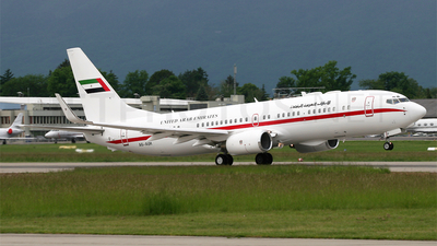 A6-AUH - Boeing 737-8EX(BBJ2) - United Arab Emirates - Abu Dhabi Amiri Flight