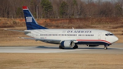 N505AU - Boeing 737-3B7 - US Airways