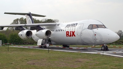 G-IRJX - British Aerospace Avro RJX100 - BAe Systems
