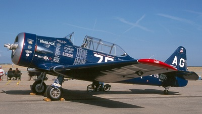 N75AG - North American AT-6F Texan - Private