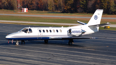 A picture of N998SA - Cessna 560 Citation Ultra - [5600485] - © Nick Michaud