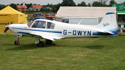 G-OWYN - Aviamilano F14 Nibbio - Private