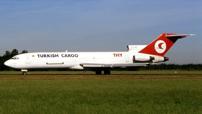 TC-JCD - Boeing 727-2F2(Adv)(F) - THY Turkish Airlines Cargo