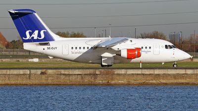 SE-DJY - British Aerospace Avro RJ70 - Scandinavian Airlines (Transwede Airways)