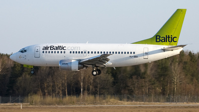 YL-BBA - Boeing 737-505 - Air Baltic