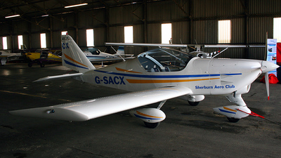 A picture of GSACX - Aero AT3 R100 - [AT3028] - © IAN CHANTLER