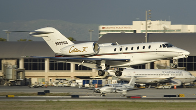 N986QS - Cessna 750 Citation X - NetJets Aviation
