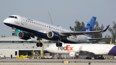 N206JB - Embraer 190-100IGW - jetBlue Airways
