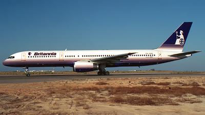 PH-AHK - Boeing 757-23A - Britannia Airways