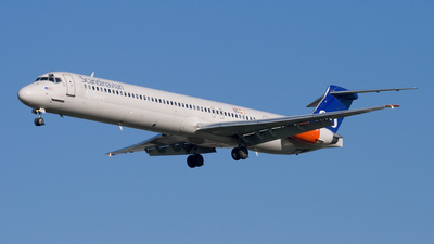 OY-KHC - McDonnell Douglas MD-82 - Scandinavian Airlines (SAS)