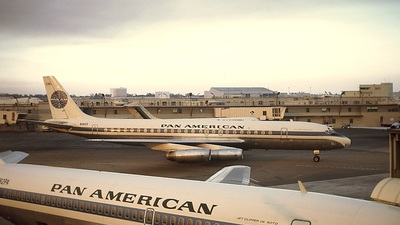 N1803 - Douglas DC-8-62 - Pan Am (Braniff International Airways)