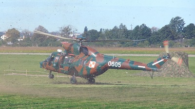 0605 - PZL-Swidnik W3 Sokol - Poland - Air Force