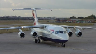 G-CFAD - British Aerospace Avro RJ100 - British Airways (CitiExpress)