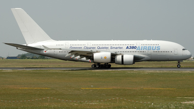 F-WWDD - Airbus A380-841 - Airbus Industrie