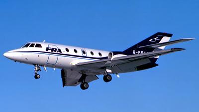 G-FRAA - Dassault Falcon 20F - FR Aviation