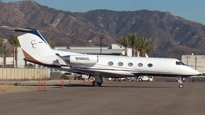 N196CC - Gulfstream G-III - Private