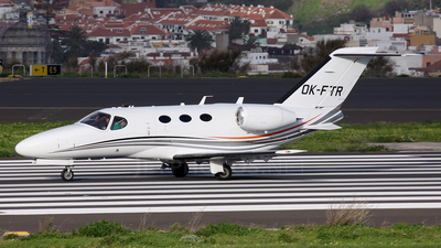 OK-FTR - Cessna 510 Citation Mustang - Private