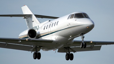 N828LX - Raytheon Hawker 800XP - Private