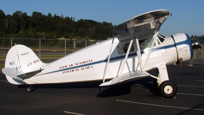 NC16241 - Waco YKS-6 - Private