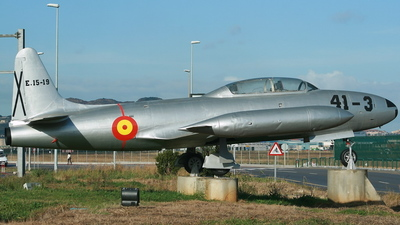 E.15-19 - Lockheed T-33A Shooting Star - Spain - Air Force