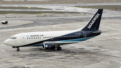 OY-MAA - Boeing 737-5L9 - Maersk Air