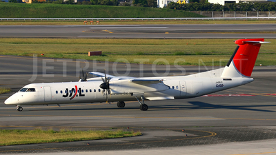 JA851C - Bombardier Dash 8-Q402 - Japan Air Commuter (JAC)