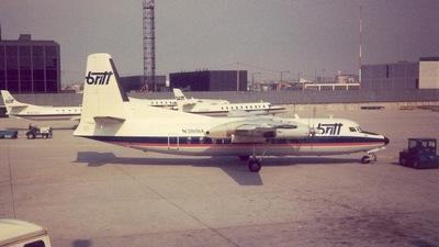 N381BA - Fairchild F-27J - Britt Airways