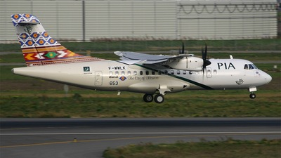 F-WWLK - ATR 42-500 - Pakistan International Airlines (PIA)