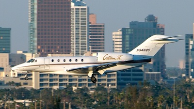 N946QS - Cessna 750 Citation X - Private