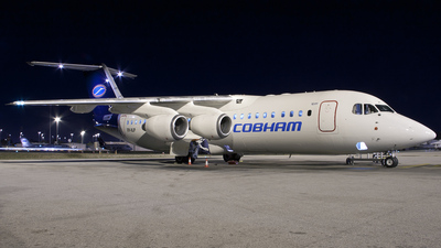 VH-NJP - British Aerospace Avro RJ100 - Cobham Aviation Services Australia