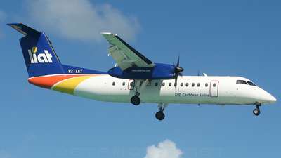 V2-LET - Bombardier Dash 8-315 - Leeward Islands Air Transport (LIAT)