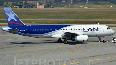 CC-COI - Airbus A320-233 - LAN Airlines
