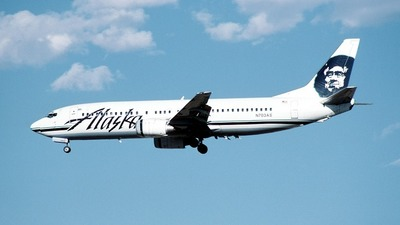 N703AS - Boeing 737-490 - Alaska Airlines