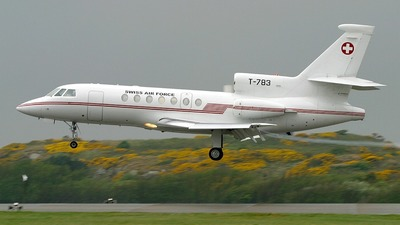 T-783 - Dassault Falcon 50 - Switzerland - Air Force