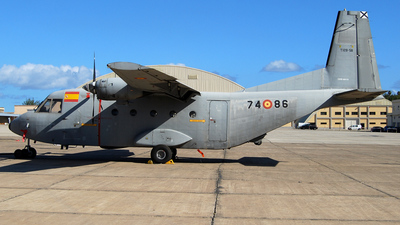 T.12B-58 - CASA CN-212-100 Aviocar - Spain - Air Force