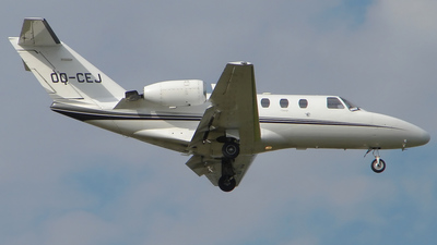 OO-CEJ - Cessna 525 CitationJet 1 - Air Service Liège (ASL)