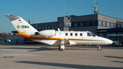 D-ISWA - Cessna 525 CitationJet 1 - Private
