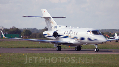 TC-STB - Raytheon Hawker 850XP - Sertur Air
