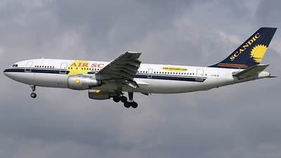 G-SWJW - Airbus A300B4-203 - Air Scandic
