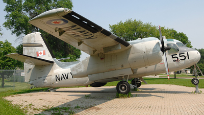 1551 - Grumman S-2 Tracker - Canada - Royal Navy