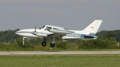 A picture of N98980 - Cessna 310R - [310R0675] - © J. Scott Gerken