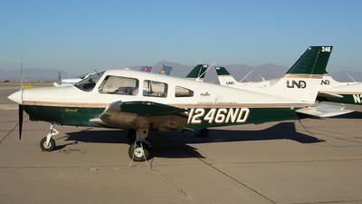 N246ND - Piper PA-28-161 Warrior III - University Of North Dakota