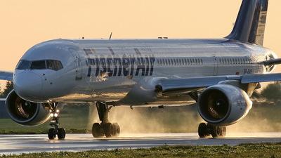 SP-FVR - Boeing 757-23A - Fischer Air Polska