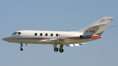 A picture of XCSON - Dassault Falcon 20F - [393] - © Ralph Duenas - Jetwash Images
