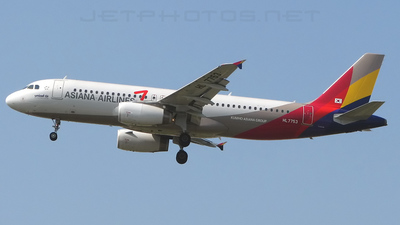 HL7753 - Airbus A320-232 - Asiana Airlines