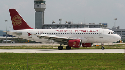 B-6233 - Airbus A319-112 - Juneyao Airlines
