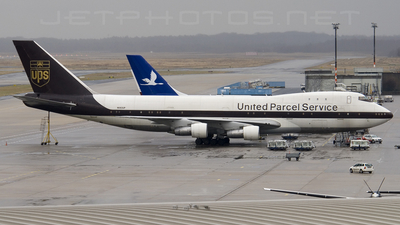 N683UP - Boeing 747-121(SF) - United Parcel Service (UPS)